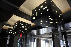 Modern light fixtures will complement the night skyline